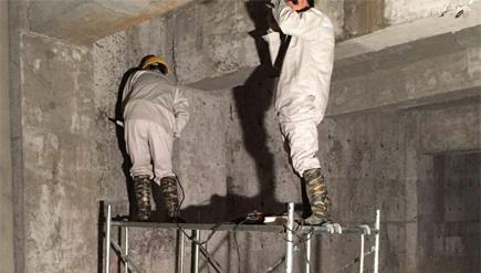 山东东营利津金桥置业有限公司地下室堵漏工程