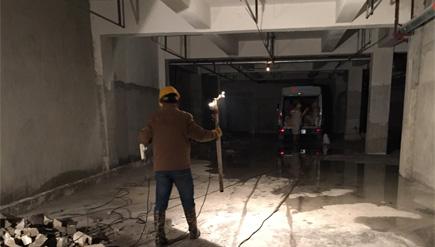浙江腾开建设有限公司地下车库工程